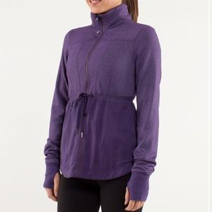Lululemon Inner Peace Jacket Concord Grape B396